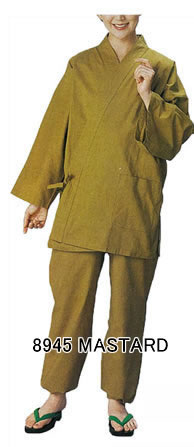 Samue , Lounger suits (Unisex) Mastard