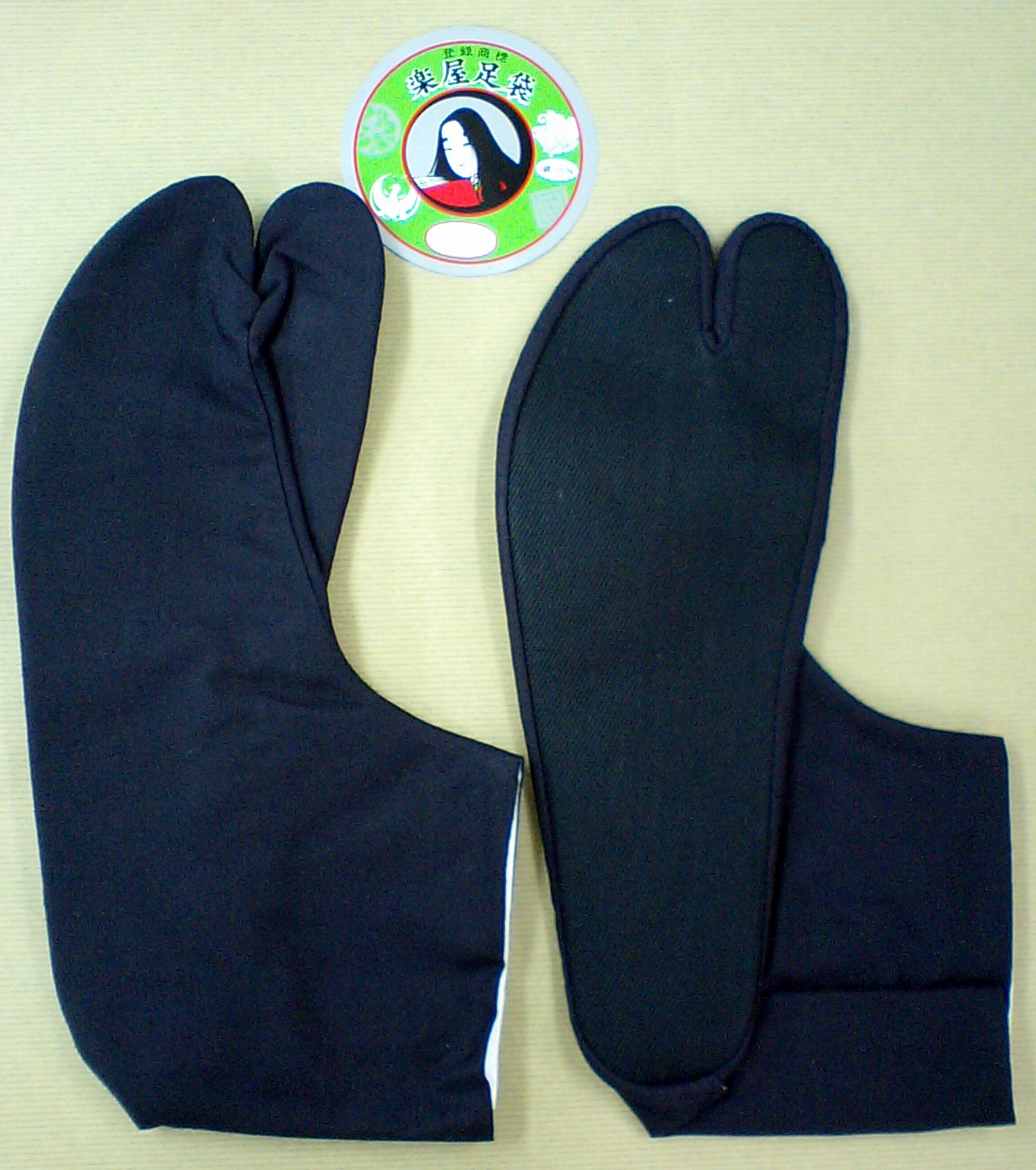 Kuroko Tabi (Dark blue Tabi with black sole Special Price)